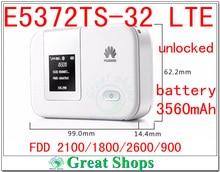 Unlocked Huawei E5372 E5372T E5372Ts-32 mifi Cat-4 4G 3g LTE wifi router 4g lte mifi dongle  FDD PK E5776 E589 E5376 e5878 e589