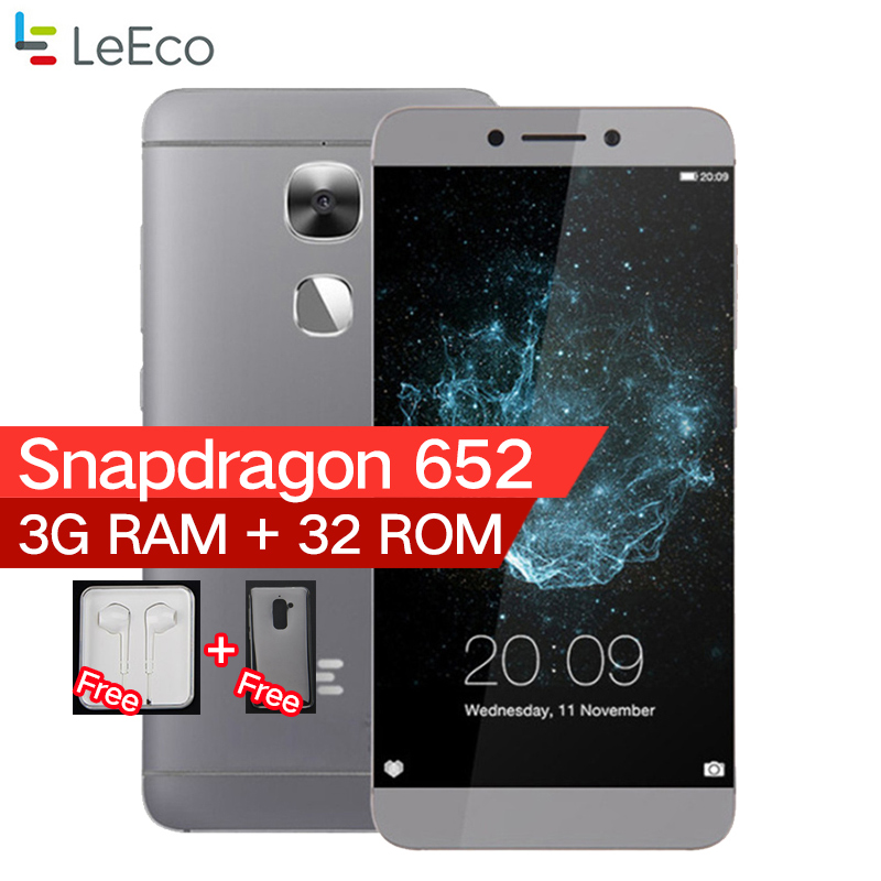 "Original LeEco LeTV Le S3 X522 3GB RAM 32GB ROM 5.5"" Android 6.0 4G LTE Smartphone Snapdragon 652 1.8GHz Octa Core mobile phone"