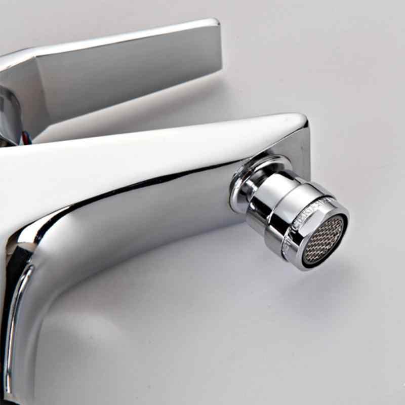 Серебряный цвет новый кухонный кран 24 мм Мужская резьба водопроводное устройство для экономии воды фитинг водопроводного крана Кухонные смесители для раковины