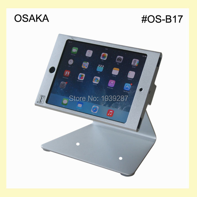 for mini ipad desktop kiosk POS stand with secure lock specialized ...