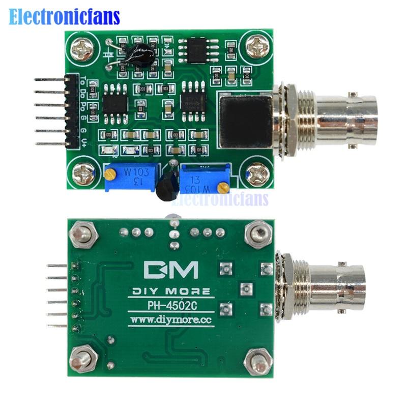 Tools Bnc Ph Electrode Probe Controller Liquid Ph 0-14 Value Detection Regulator Sensor Module Monitoring Control Board Meter Tester