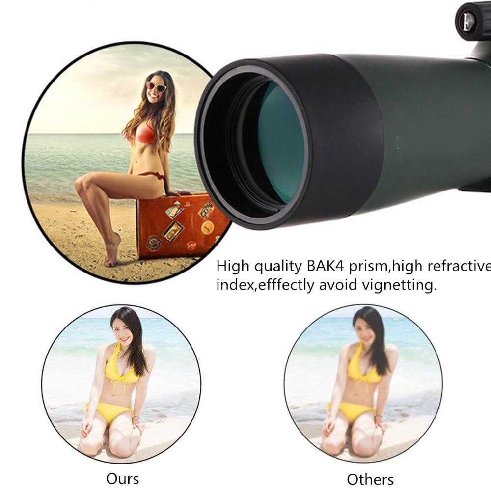 Zoom lens per smartphone 20 60x60 Impermeabile Con Il Treppiedi Del Telefono mobile Adattatore di Visione Notturna di HD Telescopio del telefono lente para celular - 2