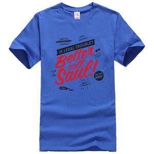 Image 3 - T shirt manches courtes hommes, vêtements de marque kpop, à la mode et humoristique, mieux Call Saul imprimées, estival
