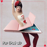 RBP Cover For IPad Air 1 Case Yue Color Ultra Thin Leather Case For IPad Air