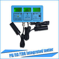 yieryi 5 in 1 Water Testing Meter Multi Parameter Water Quality Monitor Water Quality Analysis Device PH 117