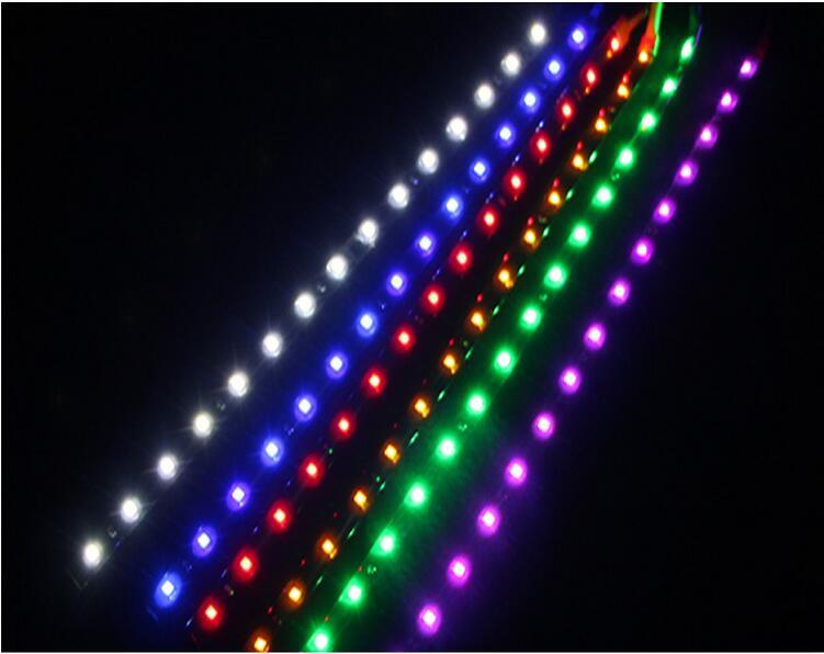 3528 1210 patch Car Styling 12V 30cm car LED DRL Light Strip Daytime Running Light motorcycle car bike decoration ip65 x 10pcs