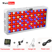 Full spectrum 1800W 1350W 900W led grow light Double chip 10W for Indoor plants lamps Hydroponics lighting Send Gift