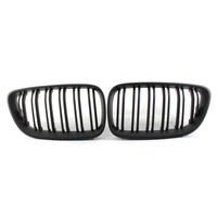 1 Pair Front Grille(Left&right) Grille Front Face For BMW 2014 2018 2 Series F22 F23 218I 220I 228I 51137295523 51137295524