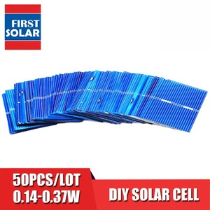 Image 1 - 50pcs/lot Solar Panel Painel Cells DIY Charger Polycrystalline Silicon Sunpower Solar Bord 19 22 39 52 78 125 156 mm