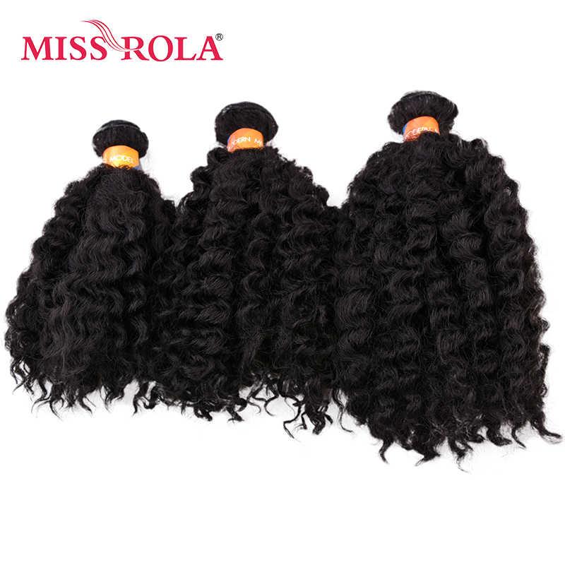 Miss Rola krótkie faliste podwójne włosy wątek splot 100% Kanekalon z włókna syntetyczne doczepy do włosów 6 sztuk/partia