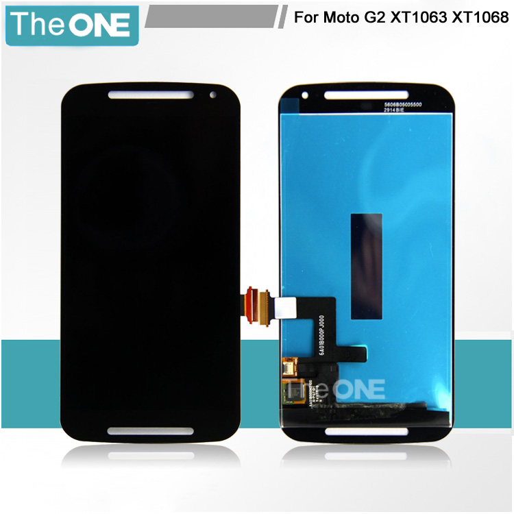 Free DHL For Motorola Moto G2 XT1063 XT1064 XT1068 LCD Display +Touch Screen with Digitizer Assembly  цены