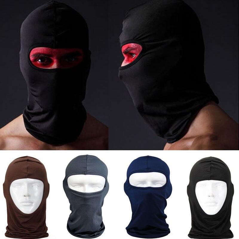 Initiative Full Face Maske Im Freien Schutz Lycra Balaclava Headwear Ski Neck Radfahren Motorrad Maske Skullies Mützen Atmungsaktive Mütze S703 Masken