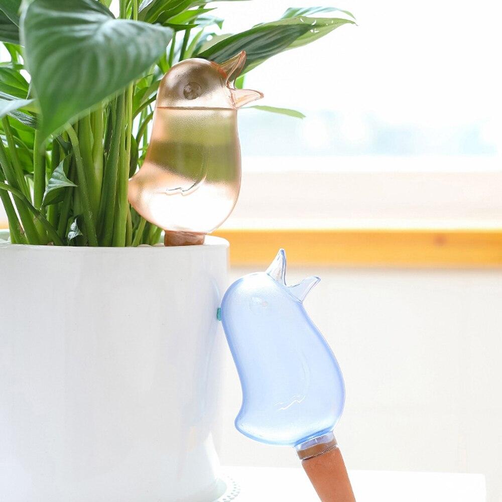 Nueva Planta de plástico de alimentación de agua de flores de diseño de aves de riego de plantas de riego de flores de jardín herramienta de riego Abono especial de frutas, alimentación de plantas, regulador de polinización de homobrassinolida para bonsái de jardín en casa