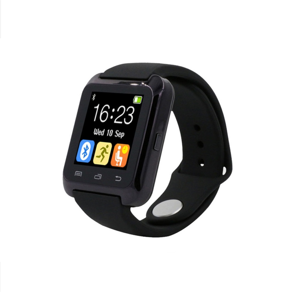 Camera Fm Radio For Android Phones fm radio wrist watch promotion shop for promotional bluetooth u80 smart android mtk smartwatchs samsung s4 note 2 note3 htc xiaomi phone pk u8 gt08 dz09