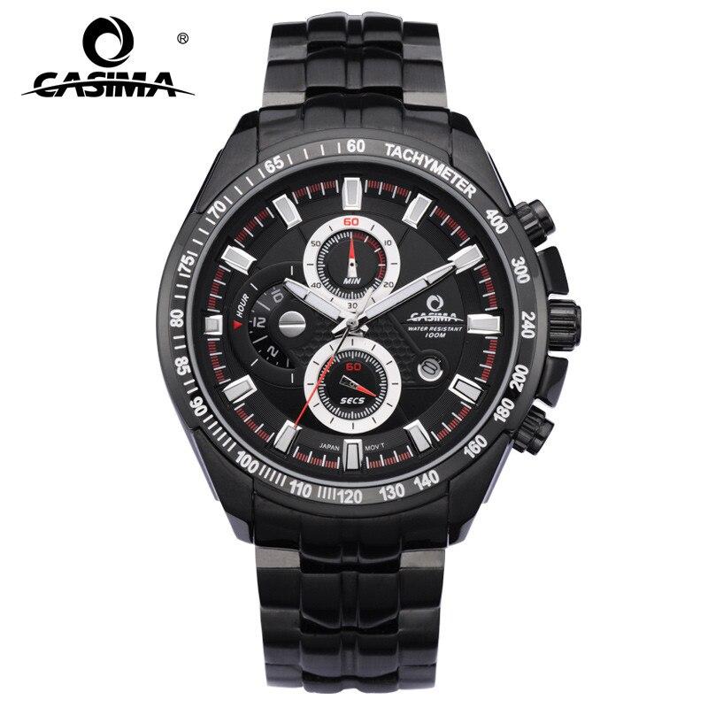 Luxury Brand Watches Men Sport Functional Luminous Casual Men's relogio masculino Waterproof Calendar Display CASIMA#8101 casima st 8101 b7e
