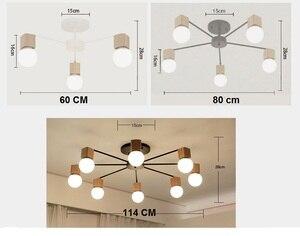 Image 5 - الحديثة الرجعية الثريا للمطبخ غرفة نوم معلقة الثريات الحديد العتيقة النمط الأمريكي الحديد المطاوع مصباح LED الحديثة الرجعية