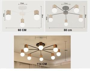 Image 5 - モダンレトロシャンデリアキッチン寝室の吊りアンティーク鉄シャンデリアアメリカンスタイルの錬鉄製のランプ近代的なledレトロ