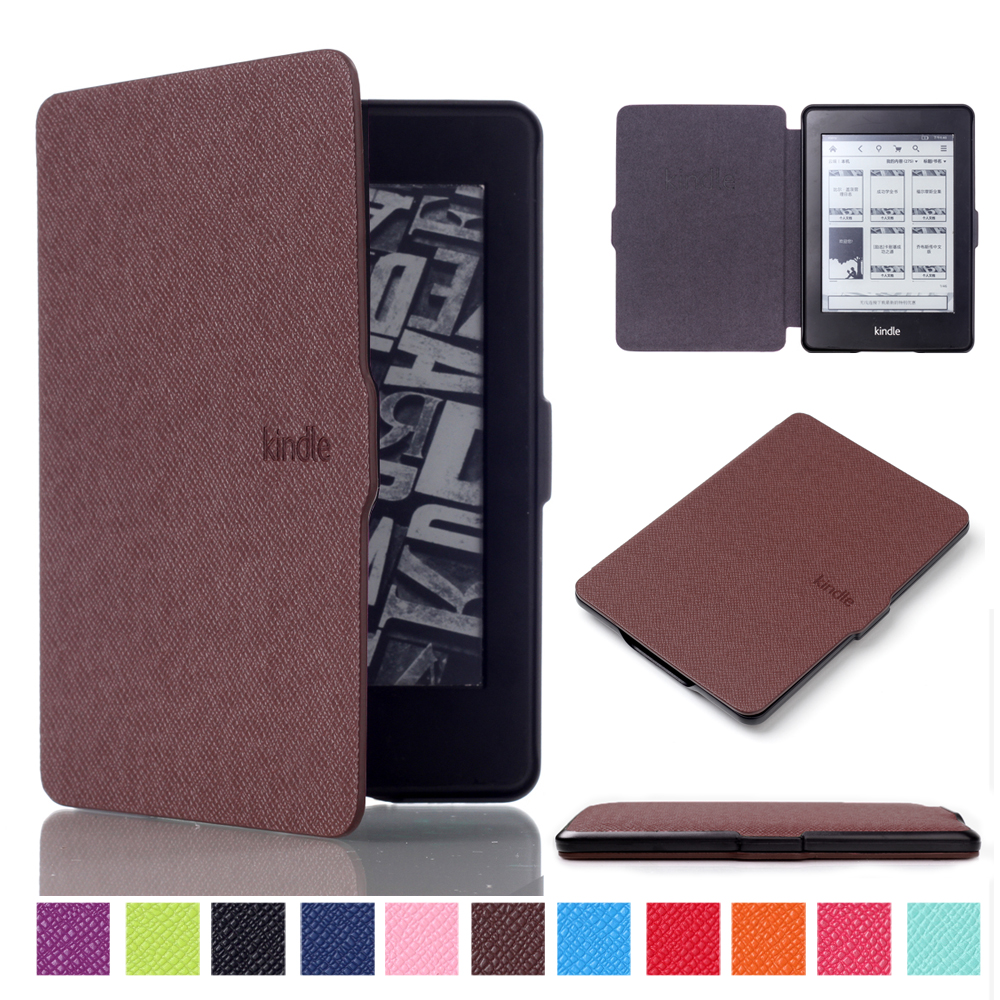 Alabasta For capa amazon kindle paperwhite 1/2/3 case cover Ultra Slim Case for Tablet 6inch Shell With Sleep&WakeUp with stylus fashion pu leather ultra slim smart cover case for amazon kindle paperwhite 1 2 3 6case tablet shell with sleep