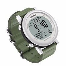 SUNROAD  Sport Men Digital Watch Hours Running Swimming Watches Altimeter Barometer Compass Thermometer Weather Pedometer Clock