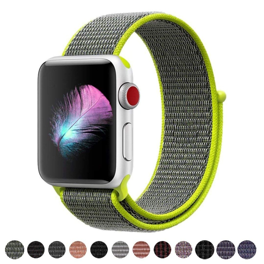 sport loop nylon strap for apple watch band 42mm 38mm iwatch serise 4 3 2 1 bracelet watchband breathable hook and loop clasp bm800 condenser microphone kit studio suspension boom scissor arm sound card 3 5mm wired vocal recording ktv karaoke microphone