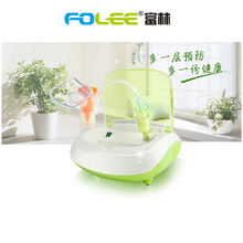 Folee Home Medic Air Compressing Nebulizer Handheld Inhaler Respirator Humidifier Face Steaming Inhaler Children Adult Atomizer portable mini handheld facial steamer nebuliser steaming skin care atomizer respirator humidifier adult kid inhaler nebulizer
