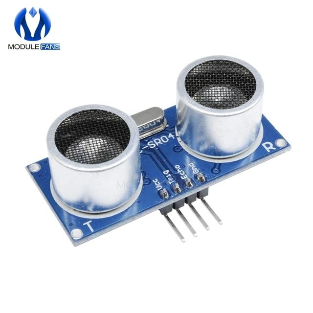 Ultrasónico para HC-SR04 distancia transductor de medición Sensor para Arduino HCSR04 DC 5 V IO gatillo Módulo de Sensor de HC SR04 Junta