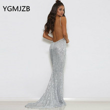 YGMJZB Evening Dresses 2019 Mermaid Prom Dress Party Dress