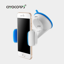Ciyocorps Car Mobile Phone Holder for iphone 7 360 Degree Ratotable Support Air Vent Mount Car Holder With car charger Or Cable