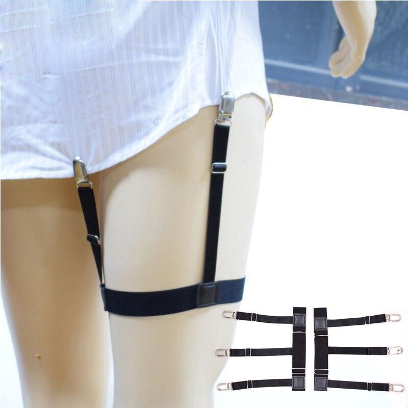 1 Para Männer Frauen Hosenträger Stocking Elastische Strumpfband Mit Rutschfeste Dessous Gürtel