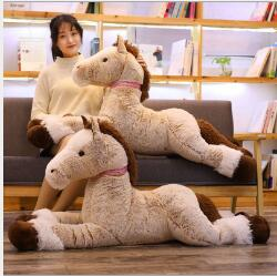 WYZHY Brown horse pillow Creative plush toy doll bedside decoration to send friends and children gifts 120CM in Stuffed Plush Animals from Toys Hobbies