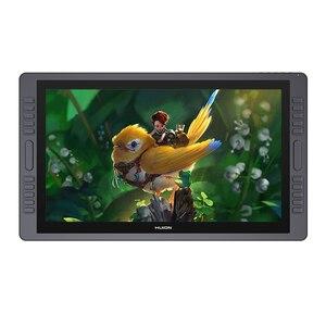 HUION KAMVAS GT-221 Pro 8192 уровней ручка дисплей чертежный планшет монитор IPS LCD HD экран 10 нажатий клавиши-21,5 дюйма