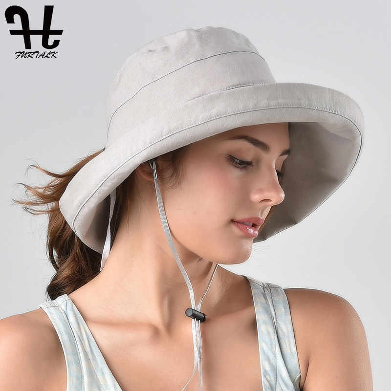 efe116b13 Detail Feedback Questions about FURTALK Summer Sun Hat with Neck ...