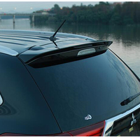 Car Styling Hot ABS Plastic Rear Trunk Boot Lip Wing Rear Spoiler For new Mitsubishi Outlander 2013 2014 2015 2016 2017