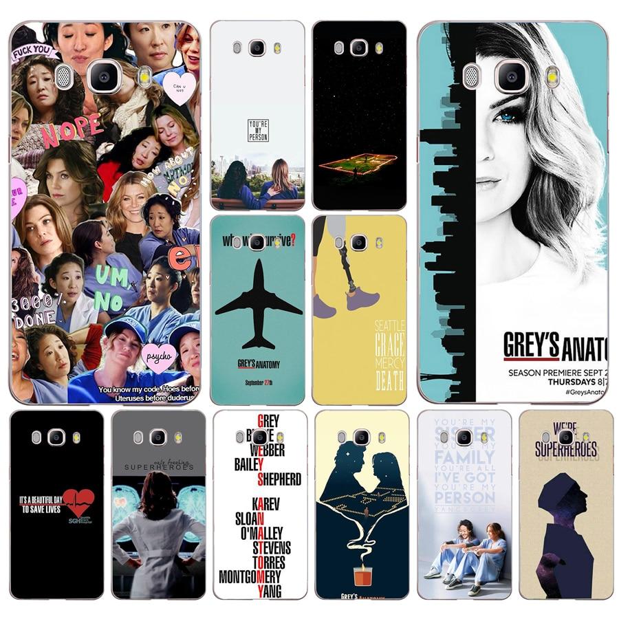 029fg Amerikaanse Tv Grijzen Anatomie Zachte Siliconen Tpu Cover Phone Case Voor Samsung J3 J5 J7 2016 2017 J330 J2 J6 Plus 2018 Te Koop