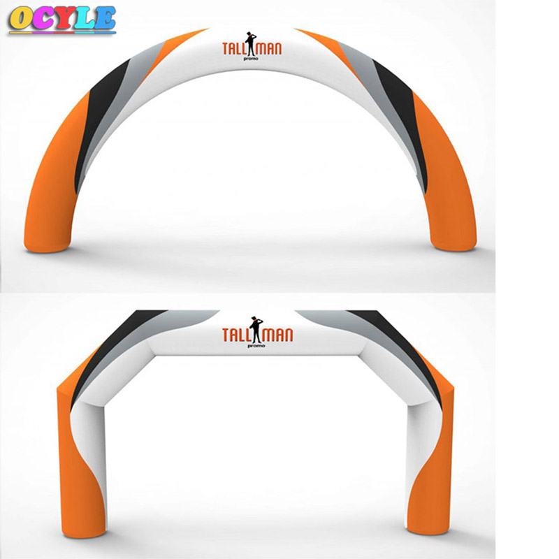 OCYLE <font><b>Inflatable</b></font> arches, removable banner ads, color inkjet campaign <font><b>billboards</b></font> image