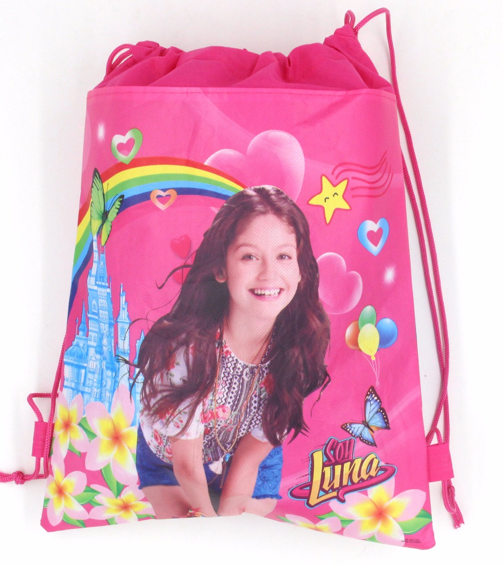 1pcs Cartoon soy luna romance woven childrens birthday party gift bag candy bag Bundle pocket