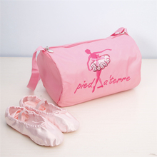 Pink Canvas Ballet Bag Dance Bags for Girls Kids children High Quality Lovely