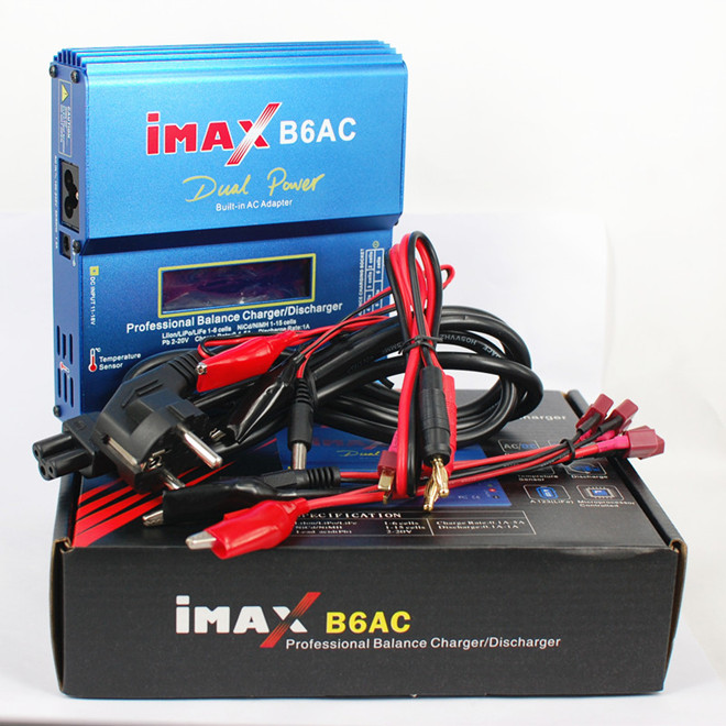 все цены на IMAX B6AC Professional Multi-functional Lipo Battery Balance Charger with built-in AC adapter RC Charger