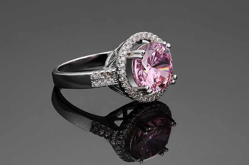 Iutopian ยี่ห้อมาใหม่แหวน Anels สำหรับผู้หญิงคุณภาพสูง CZ Top คุณภาพสำหรับเธอขนาด 6 -9 #80646