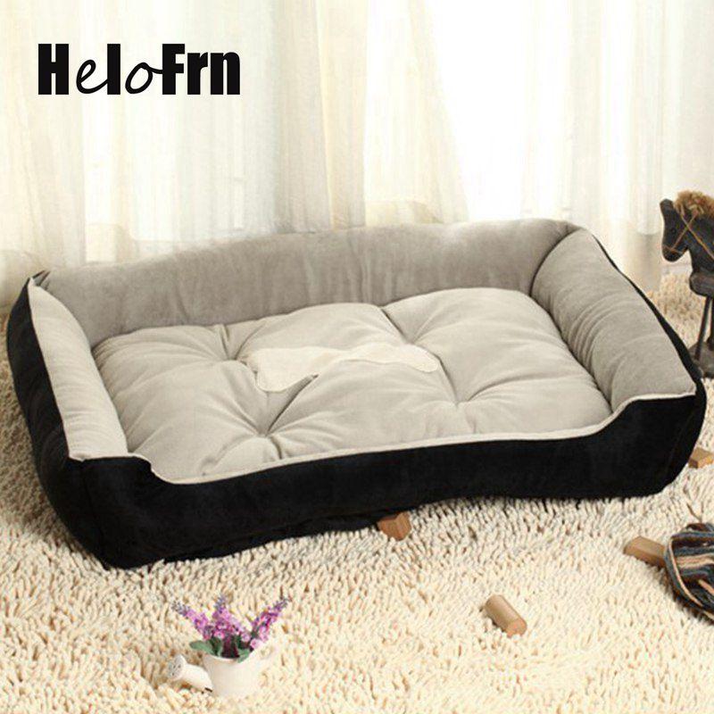 Winter Pet Dog Bed Warming Dog House Soft Material Nest Dog Baskets Cat Dog Bed House