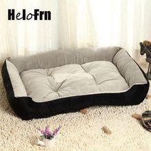 Зима собака кровать потепление собачий дом мягкий материал гнездо корзины для собак кошка собачья Лежанка для Щенки спальная Подушка продукты