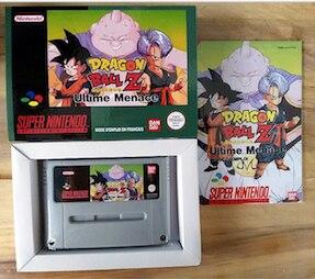 16Bit Games ** Dragon Ball Z - Ultime Menace ( French PAL Version!! Box+Manual+Cartridge!! )