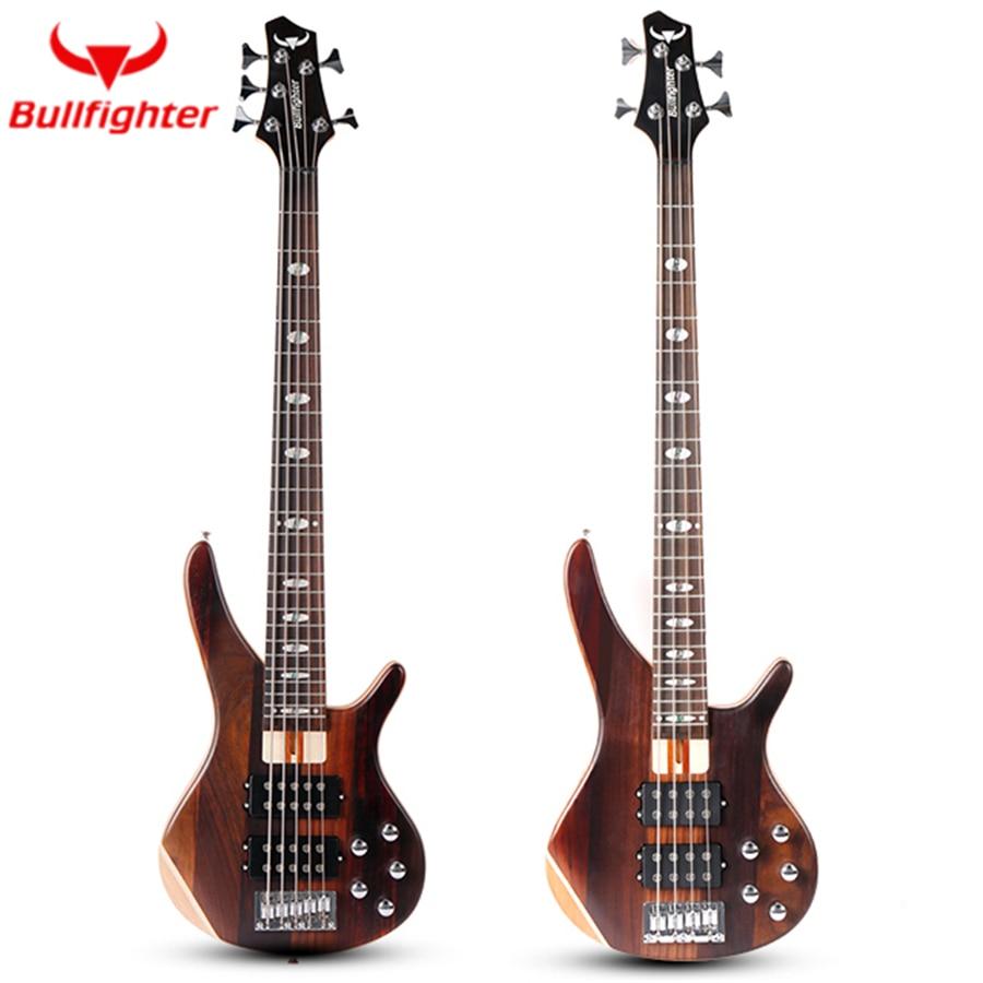 bullfighter db 4 5 performance electric bass guitar 4 5 strings active pickups metal bass guitar. Black Bedroom Furniture Sets. Home Design Ideas