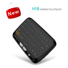 H18 Mini Keyboard Touchpad 2.4 GHz Sky Remote Kontrol Nirkabel Mirip Seperti MX3 Udara Mouse untuk Android TV Box Mini pc(China)