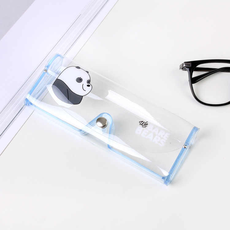 7c2ac832125 ... Cartoon bear Glasses Case Plastic Transparent Clear Crystal Eyeglass  Glasses Spectacle Case Box Holder Glasses Box ...