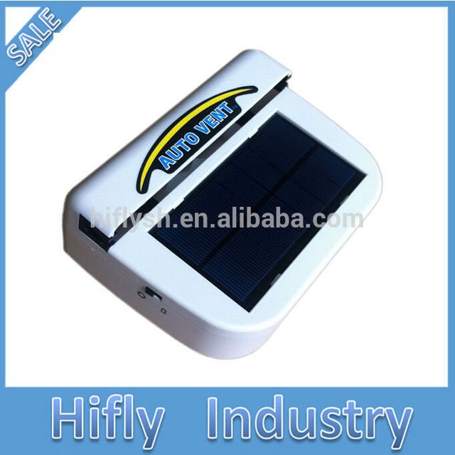 Solar Powered Car Auto Cooling Fan Auto Air Vent Ventilate with Rubber Strip Car Cooler  Window Fan
