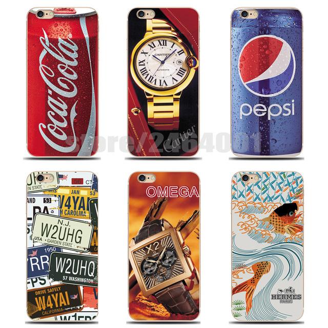Etui Coca-Cola Pepsi iPhone 4S 4 5S 5 6 s 6 Plus