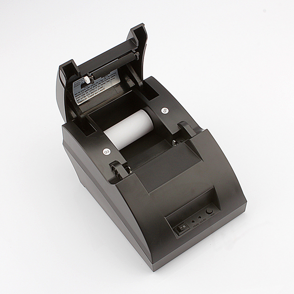 ФОТО New Mini 12V 3A 58MM POS/ESC Cash Register USB Thermal Dot Receipt Printer Tool