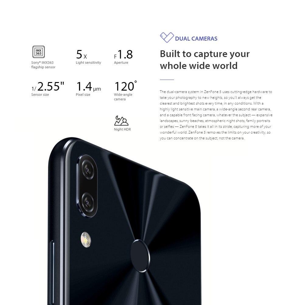 ASUS Zenfone 5 ZE620KL Global Version Smartphone 6 2