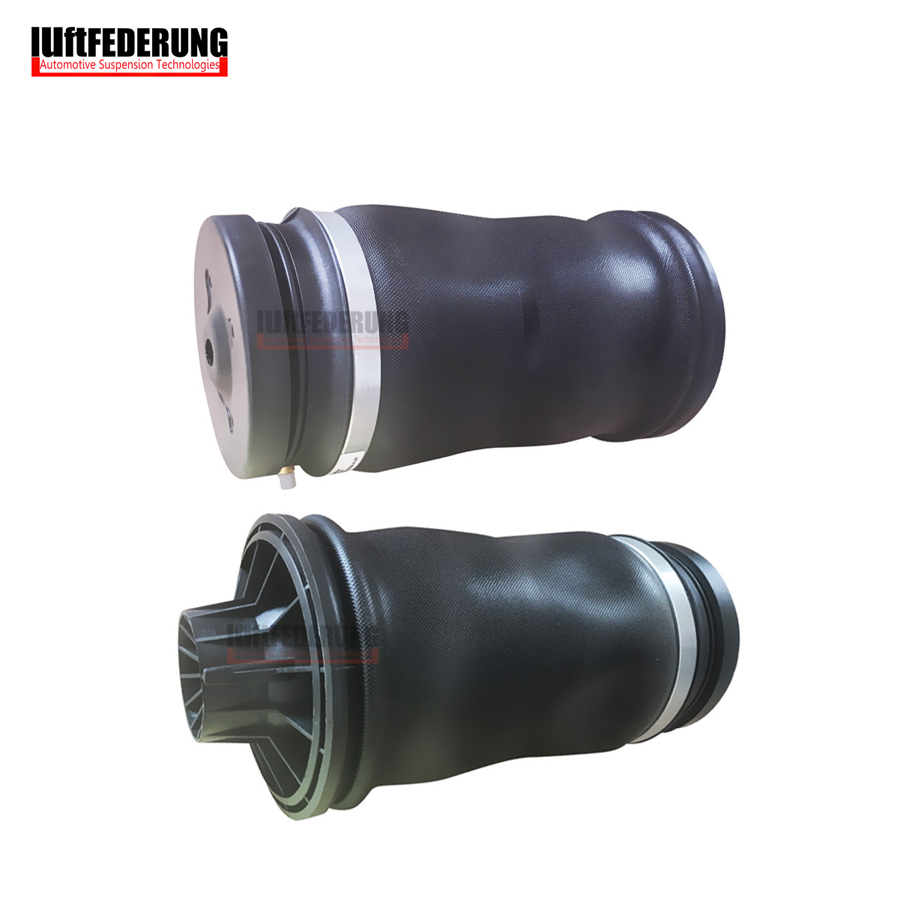 Luftfederung New 2pcs Mercedes GL X164 W164 Rear Air Bag Suspension Shock Air Spring Ride 1643201025 brand new rear air ride suspension natural rubber air spring bag for mercedes benz w164 gl class a1643200625 a1643200925